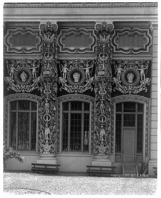 Detail of Temple of Music, Pan-American Exposition, Buffalo, N.Y.