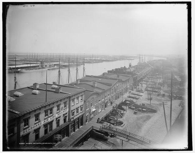 Down the river, Savannah, Ga.