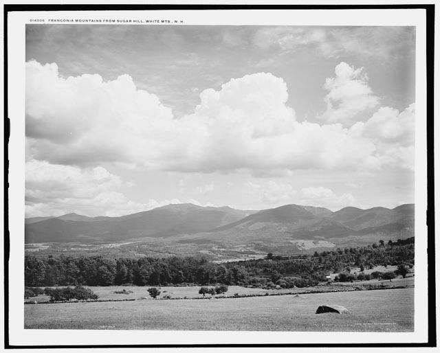Franconia Mountains from Sugar Hill, White Mts., N.H.
