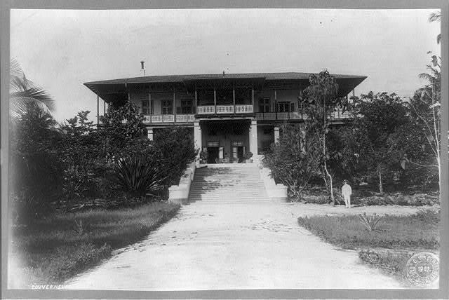 [Governor's home, Dar Es Salaam, Tanganyika, Africa] / C. Vincenti, Dar Es Salaam.