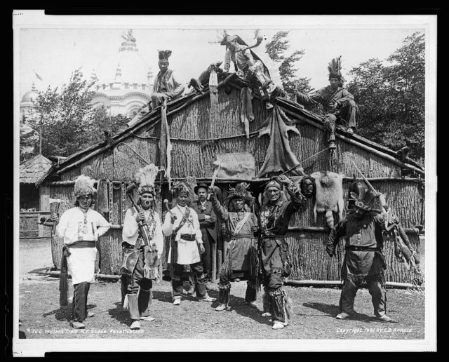 Indians from N.Y. state reservation