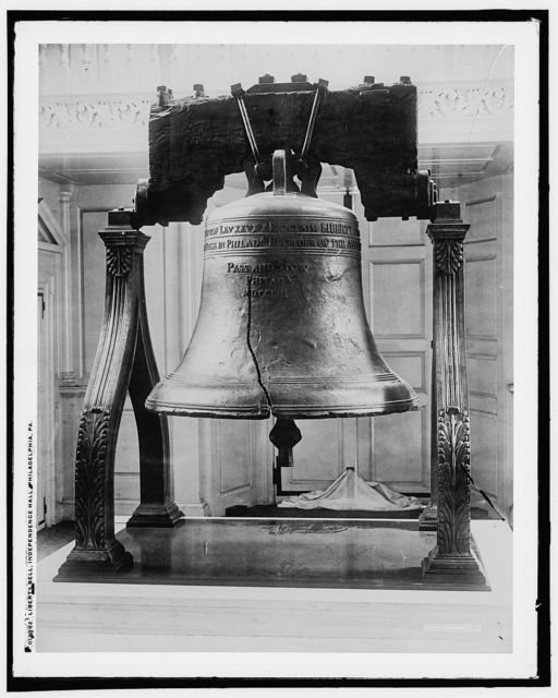 Liberty Bell, Independence Hall, Philadelphia, Pa.