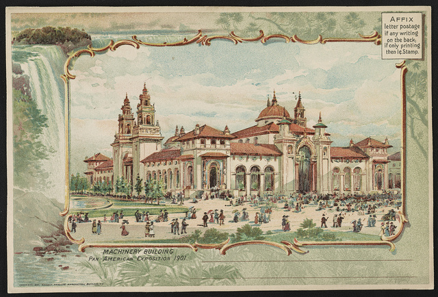 Machinery Building, Pan-American Exposition 1901