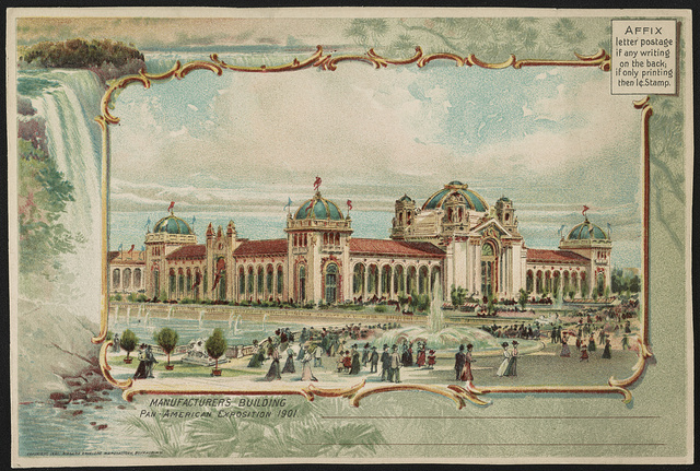 Manufacturers Building, Pan-American Exposition 1901
