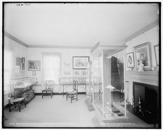 Martha Washington's room, Washington's headquarters [i.e. Ford Mansion], Morristown, N.J.