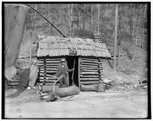 McLeod's cabin, Happy Hollow, Hot Springs, Ark.