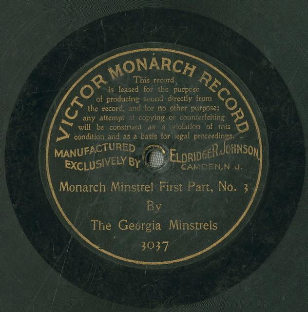 Monarch Minstrel, first part, no. 3