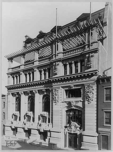 New York Yacht Club: [Exterior facade]