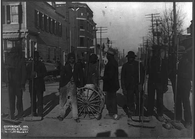 Newport News chain gang