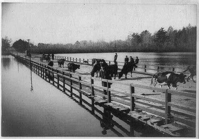 Old Floating Bridge, Lynn, Mass.