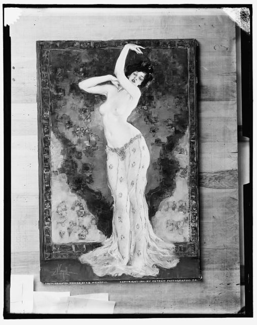 Oriental dancer, by A. B. Wenzell