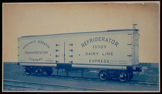 Pan-American Exhibition Car. Exhibition Merchants. Despatch Transportation Co.