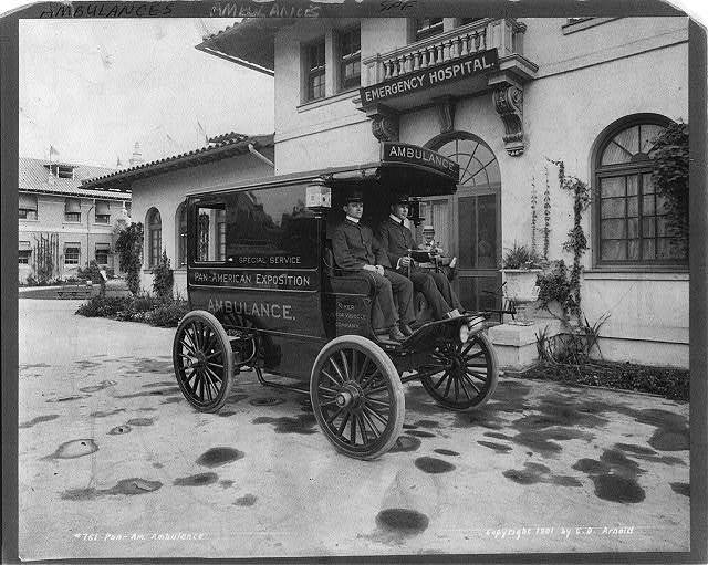 Pan-American Exposition ambulance