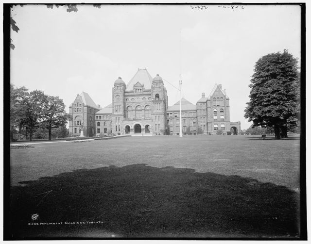 Parliament buildings, Toronto