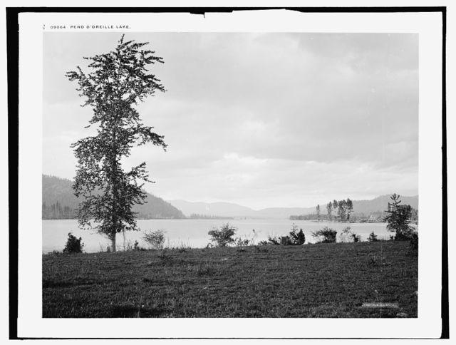 Pend d'Oreille Lake