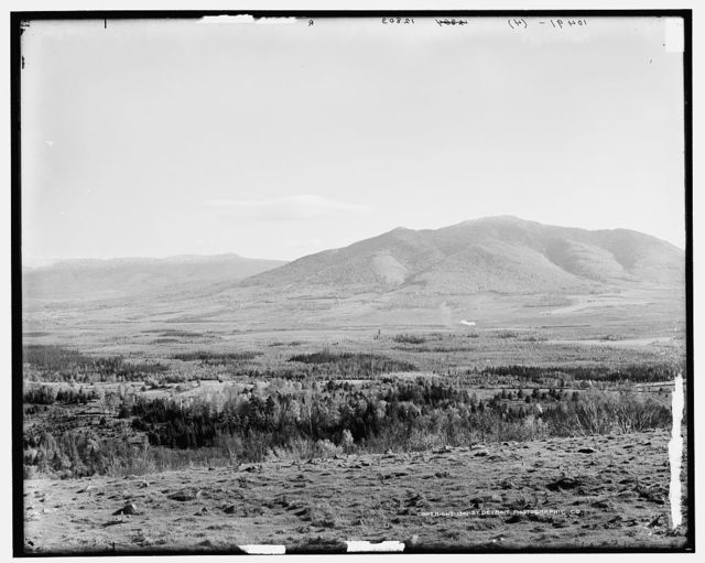 [Presidential Range from Bray Hill, Jefferson, White Mountains]
