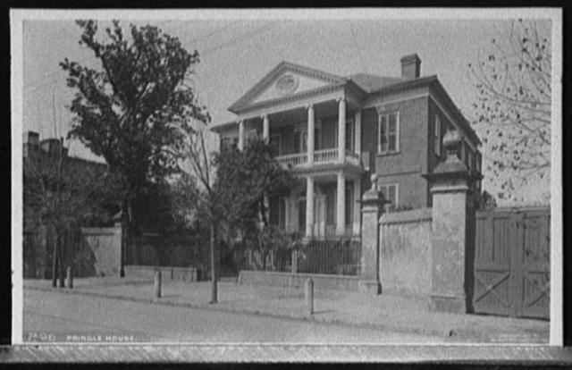 Pringle House [i.e. Mansion], Charleston, S.C.