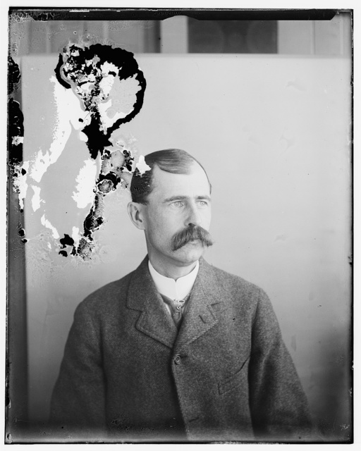 [Reuchlin Wright, brother of Wilbur and Orville, age 40, head and shoulders]