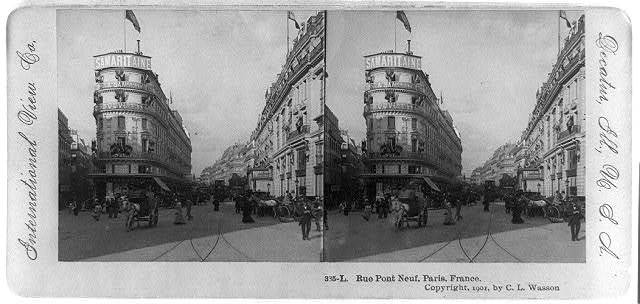 Rue Pont Neuf, Paris, France / International View Co.