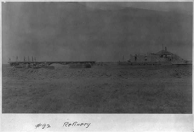 Spindletop, Beaumont, Port Arthur, and vicinity, Texas - oil industry: Refinery