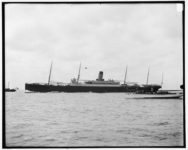 S.S. Cymric, White Star Line