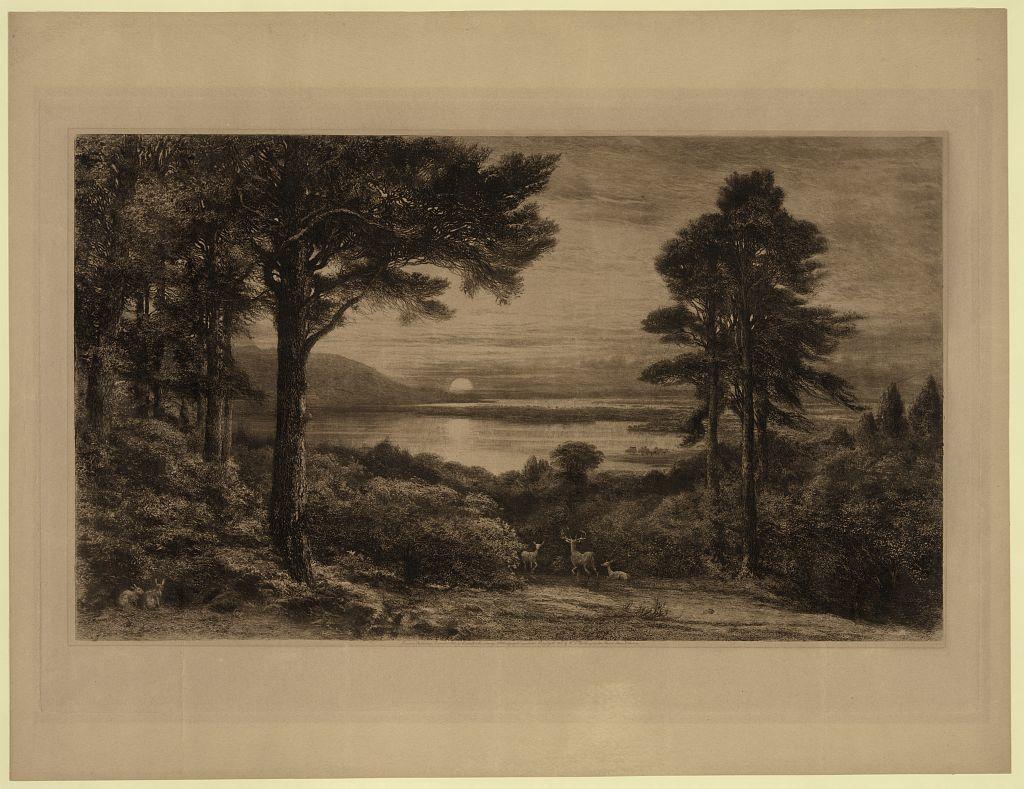 [Sunset on Lake Killarney]