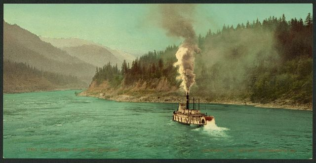 The Columbia below the Cascades