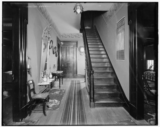 [The Firs, lower hall, New Baltimore, Mich.]