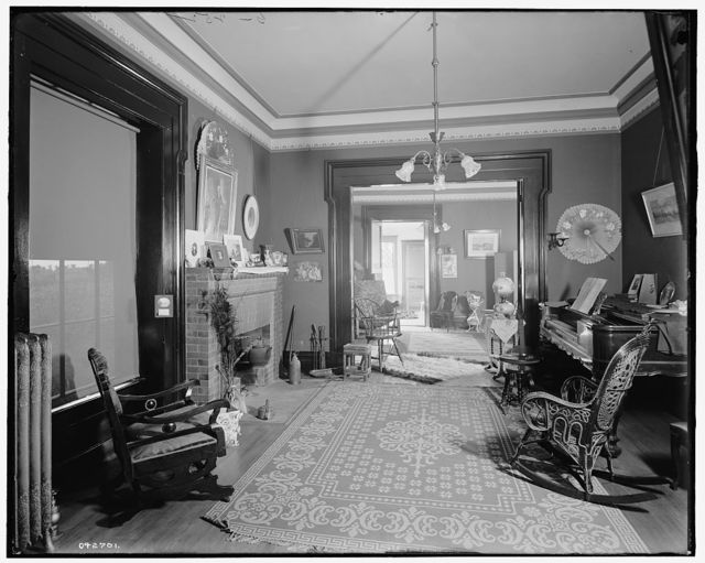 [The Firs, parlors, New Baltimore, Mich.]