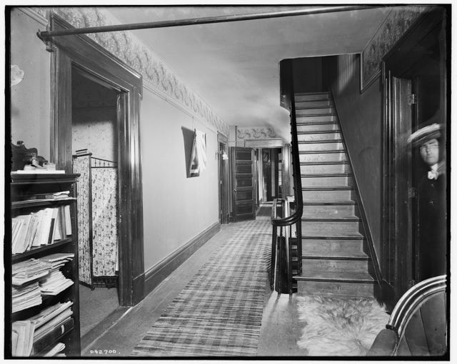 [The Firs, upper hall, New Baltimore, Mich.]