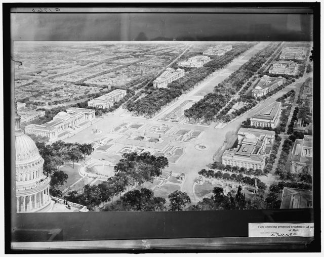 [The future Washington, proposed treatment of mall, Washington, D.C.]