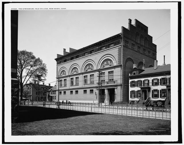 The gymnasium, Yale College, New Haven, Conn.