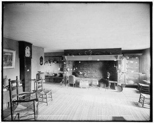 The Kitchen, Washington's headquarters [i.e. Ford Mansion], Morristown, N.J.