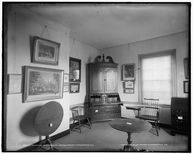 The Office, Washington's headquarters [i.e. Ford Mansion], Morristown, N.J.