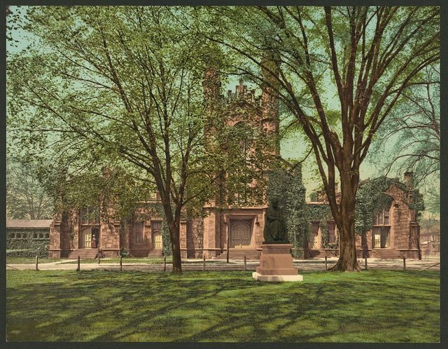 The Old library, Yale College