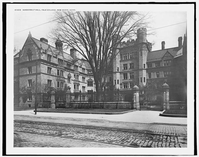 Vanderbilt Hall, Yale College, New Haven, Conn.