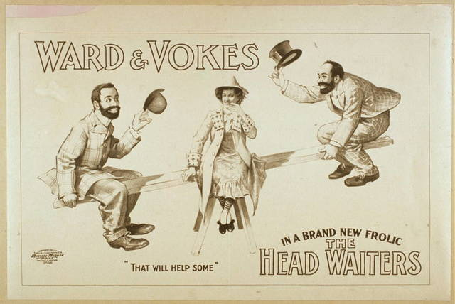 Ward & Vokes in a brand new frolic The head waiters