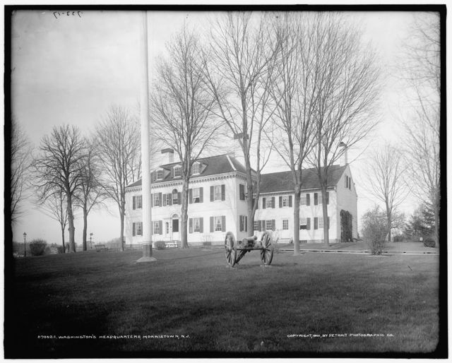 Washington's headquarters [i.e. Ford Mansion], Morristown, N.J.