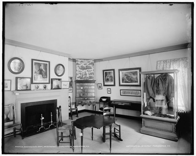 Washington's room, Washington's headquarters [Ford Mansion], Morristown, N.J.