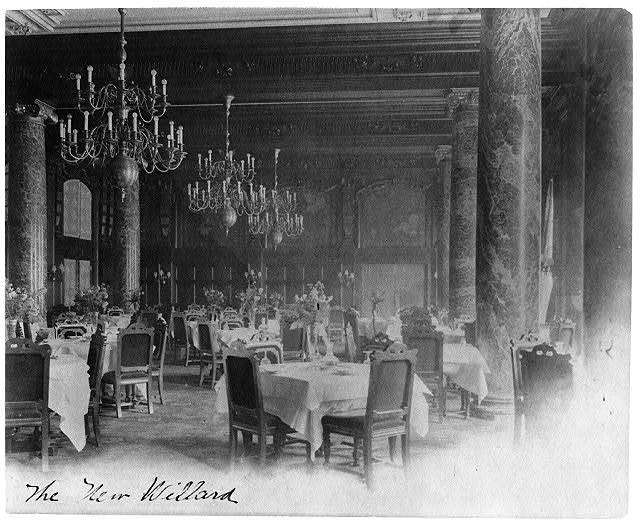 [Willard Hotel - dining room]
