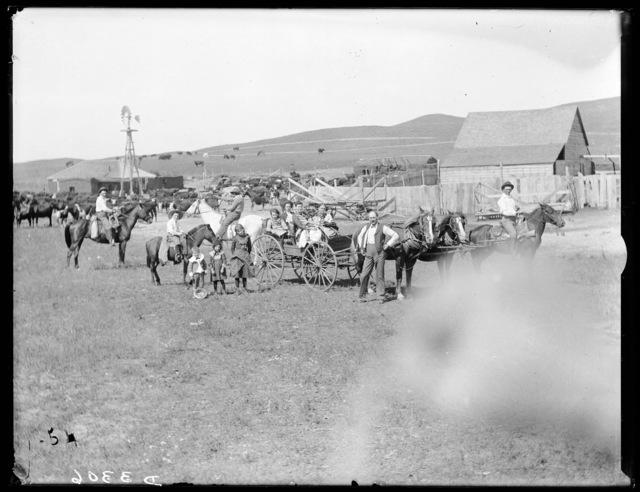 William Kennedy ranch in Cherry County, Nebraska