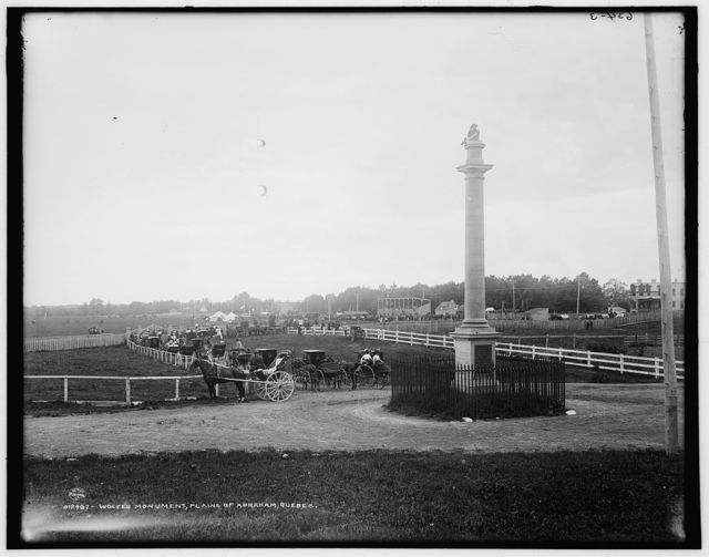 Wolfe's Monument, Plains of Abraham, Quebec