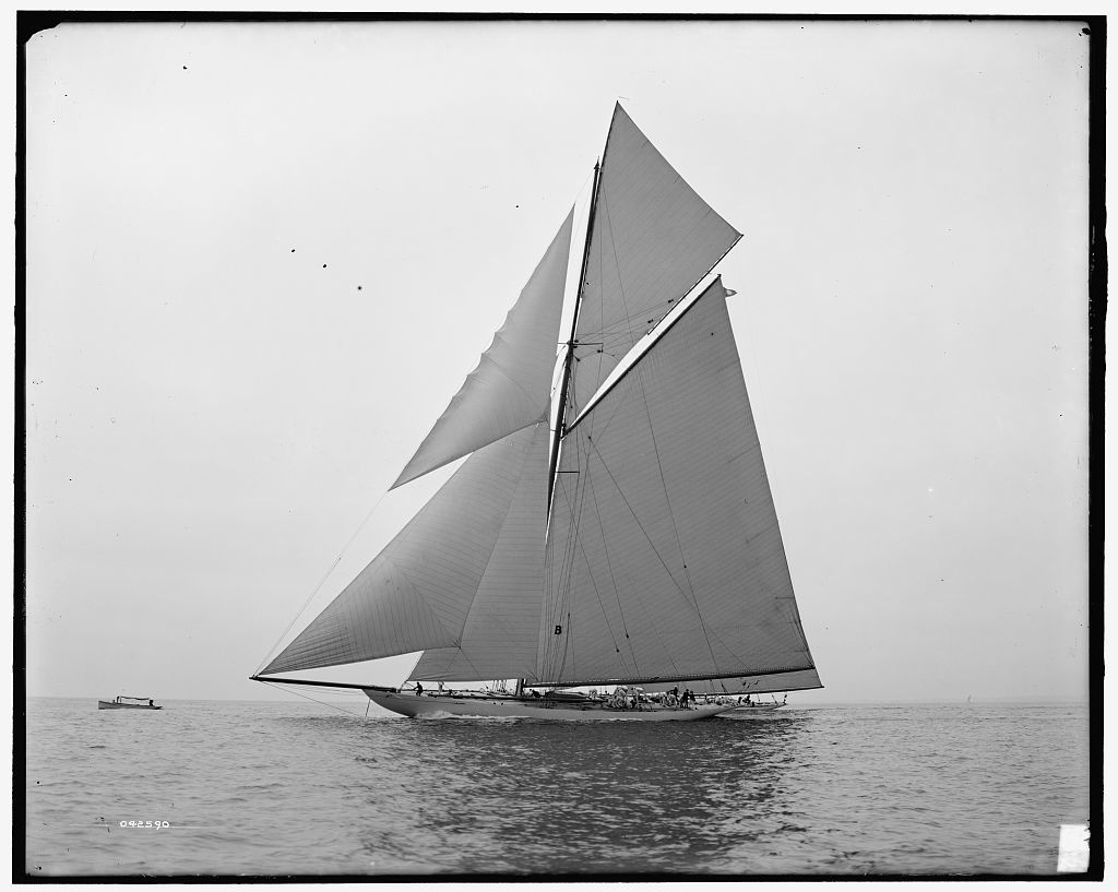 [Yachts Constitution and Columbia]