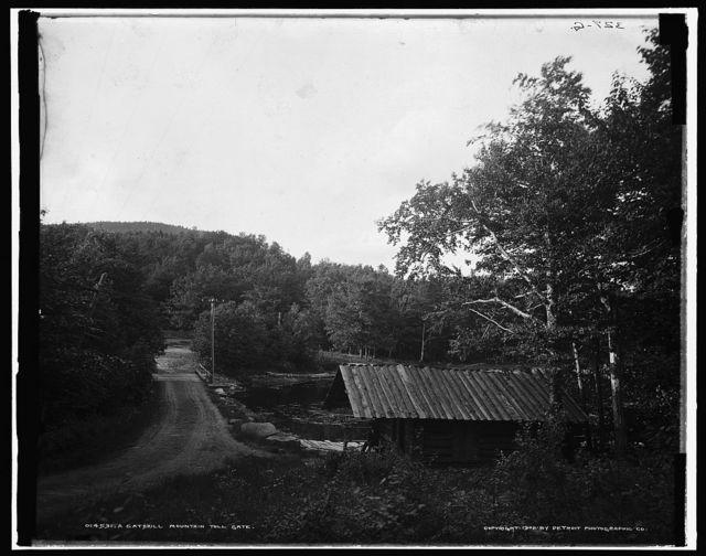 A Catskill Mountain toll gate