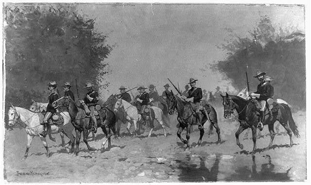 [Advance guard] / Frederic Remington.