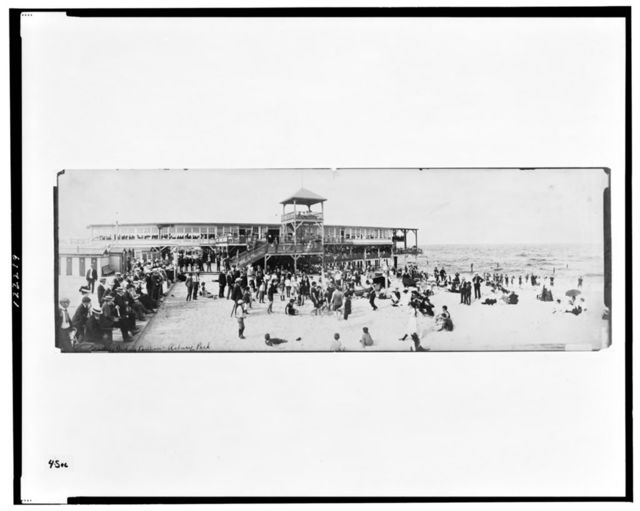 Bradley bathing pavilion, Asbury Park
