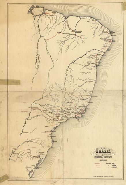 Brazil, provincial railroads.