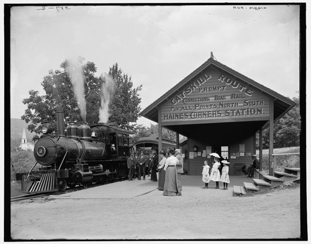 [Catskill Mountain railway station, Haines Corners, Catskill Mountains, N.Y.]