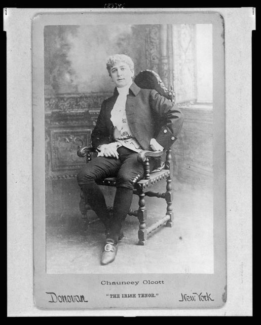 "Chauncey Olcott, ""The Irish tenor"""