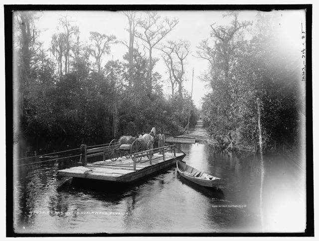 Ferry on the Ocklawaha [sic], Florida